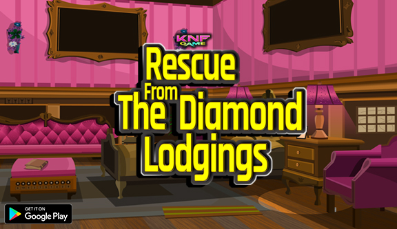 Knf Rescue The Diamond From Lodgings - Escape Games