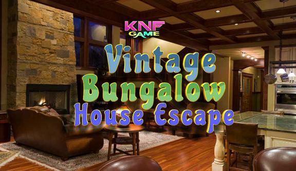 Knf Vintage Bungalow House Escape - knfgame