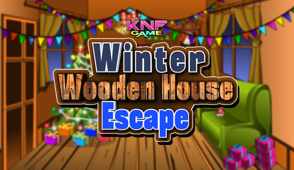Knf Winter Wooden House Escape - knfgame