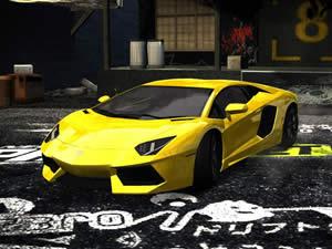 Lamborghini Aventador Puzzle