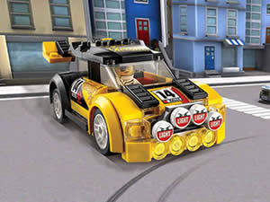 Lego Cars Hidden Letters
