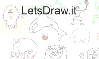 Letsdrawit game