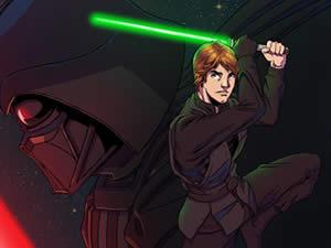 Luke Skywalker Puzzle