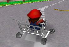 Mario Cart 3D