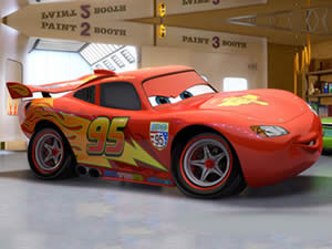 McQueen in the Garage