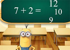 Minions Math Test