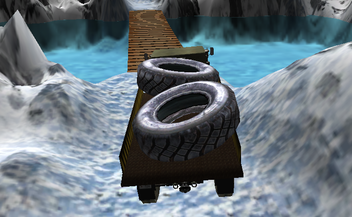 Mountain Truck Transport Game