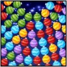 Orbiting Xmas Balls - Free Games Ocean