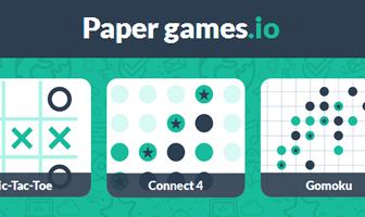 Papergamesio game