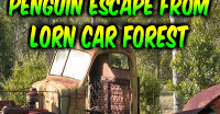 Penguin Escape From Lorn Car Forest