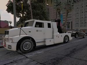 Police Tow Truck Jigsaw
