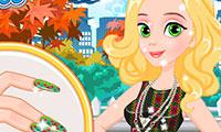 Princess Matching Nails and Dress