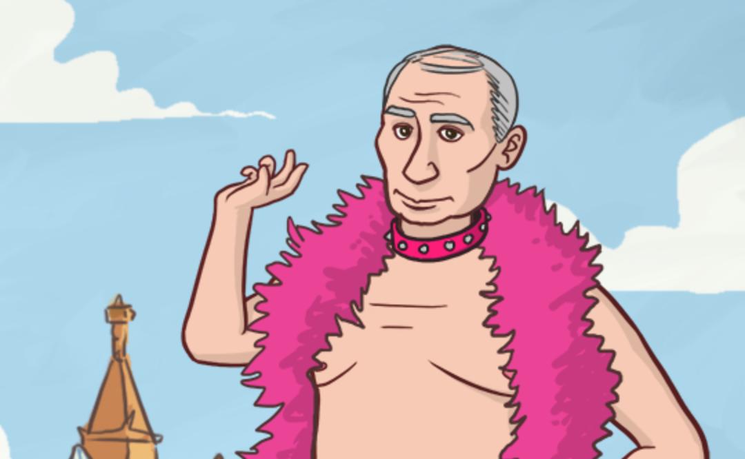 Putin Gay Dressup