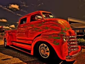 Red Truck Jigsaw - Truck Games - Online Truck and Monster Truck Games