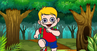 School Boy Trip Escape