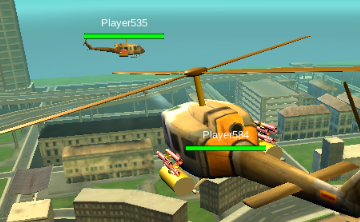 Seek and Destroy Helicopter