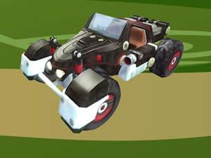 Shadow the Hedgehog Car