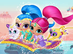 Shimmer and Shine Puzzle