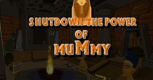 Shutdown the Power of Mummy Escape
