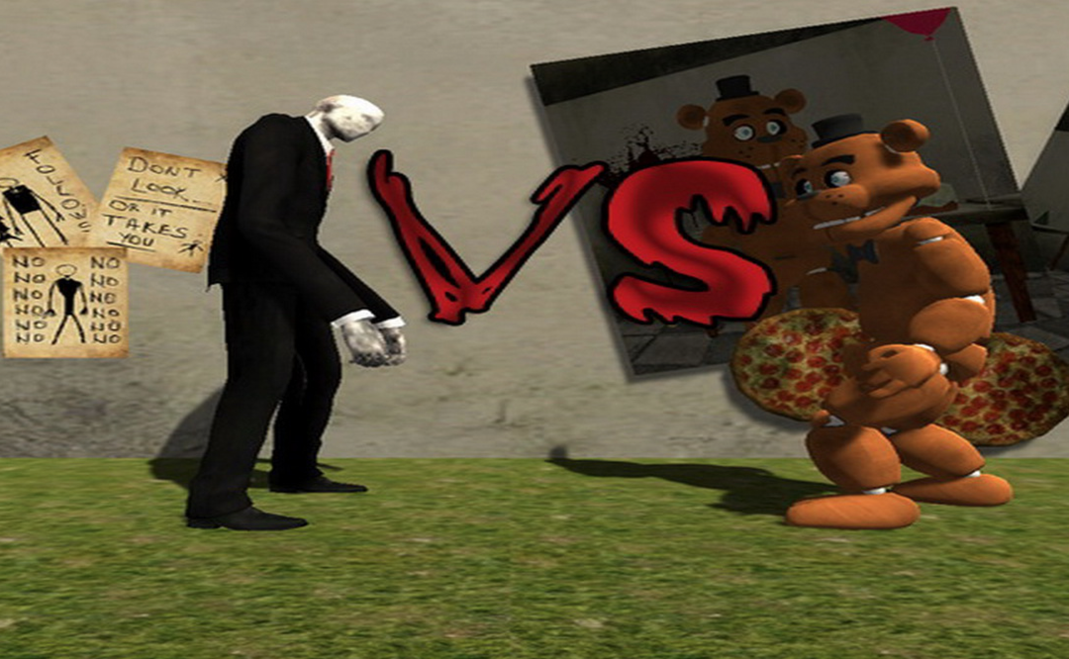 Slenderman VS The Fazbear