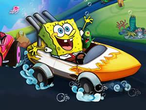 SpongeBob Racing Boat Puzzle