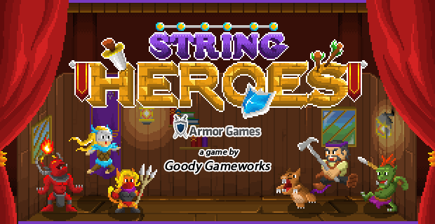 String Heroes - on Armor Games