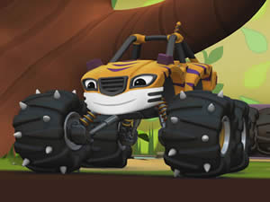 Stripes Monster Truck