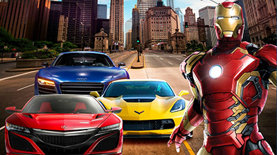 Supercars For IronMan - Games Arsenal