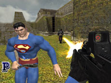 Superheroes War Game