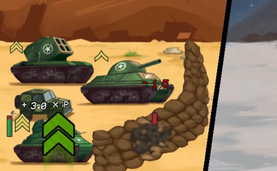 Tank Battle: War Commander 2D