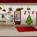 Toll Christmas Decor Room Escape