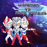Ultraman VS Alien Zombie