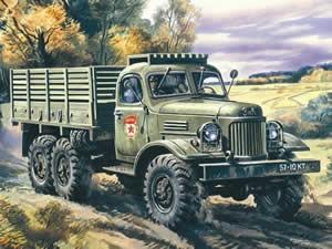 Zil WW2 Truck Jigsaw