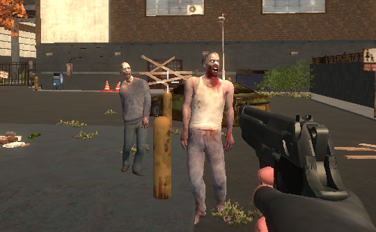 Zombie vs Janitor (FPS Game)